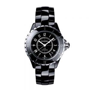 Chanel Uhr J12 Keramik schwarz
