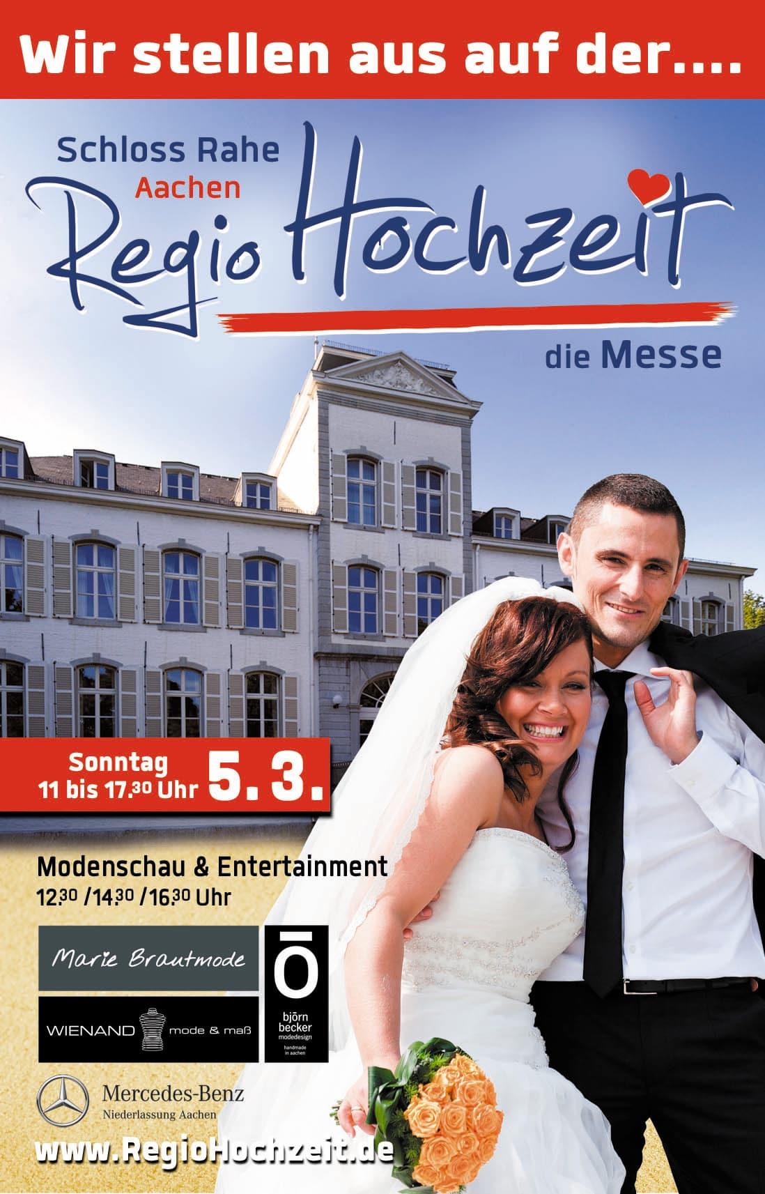 Wir Stellen Aus Regiohochzeit Die Hochzeitsmesse In Aachen Lucker