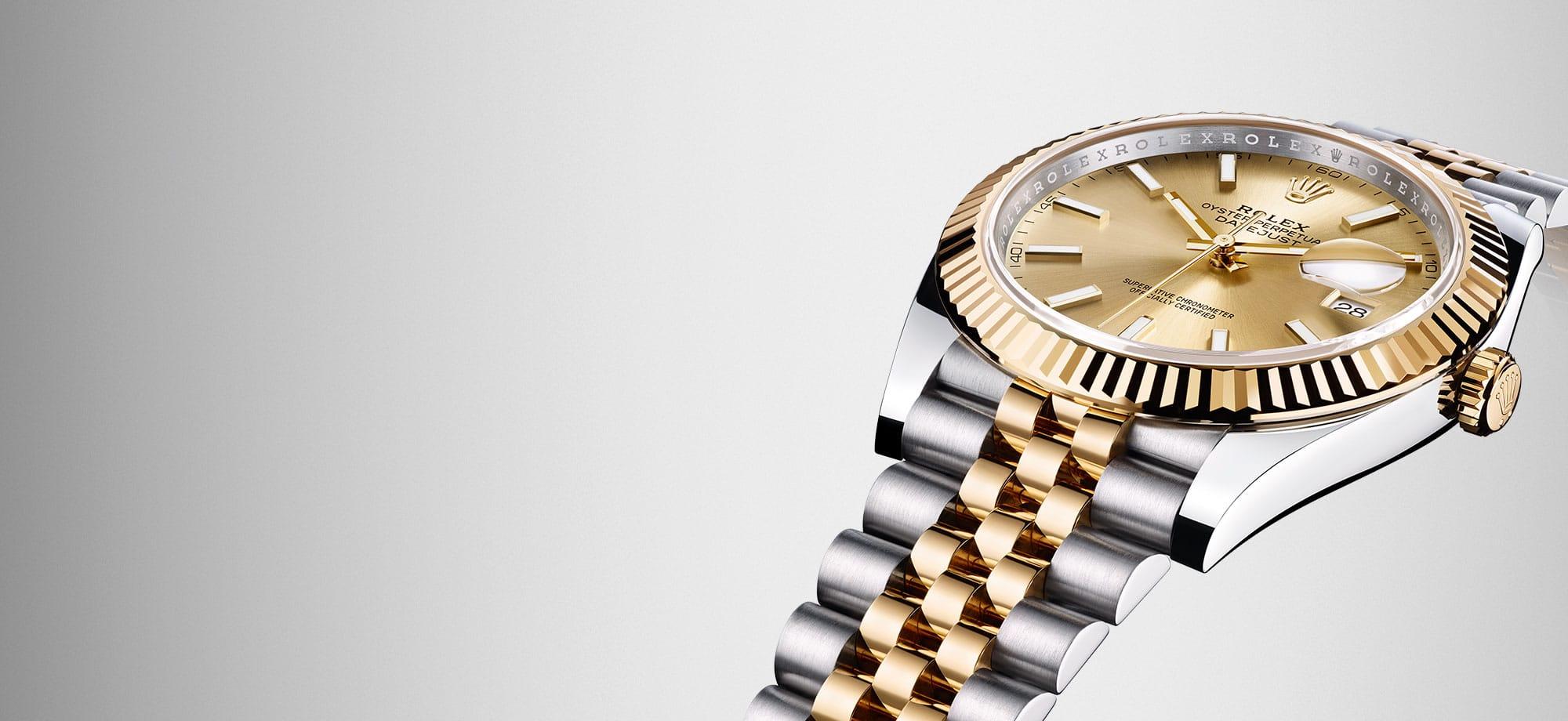 Rolex Monatsbanner Februar