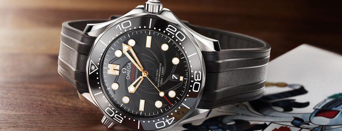Zum 50. Jubiläum des Bond-Klassikers lanciert Omega ein limitiertes Sondermodell