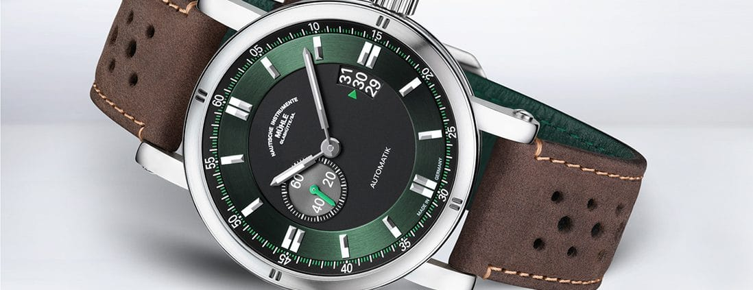 Mühle-Glashütte Teutonia Sport II in British Racing Green