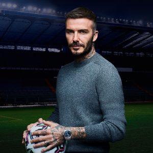 David Beckham ist einer der Markenbotschafter für TUDOR