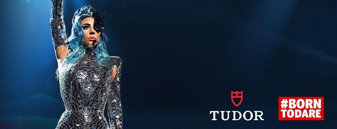 Lady Gaga ist eine der Markenbotschafter für TUDOR