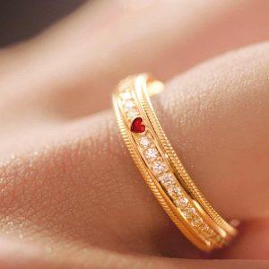 "Wellendorff-Ring ""Liebeserklärung"""